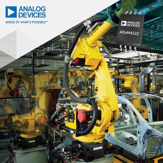 Технология изоляции Analog Devices повысит эффективность систем автоматизации предприятий