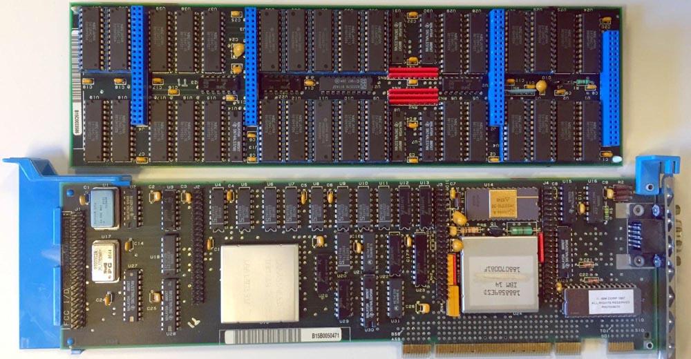 Ранние графические чипы изменившие компьютерную индустрию