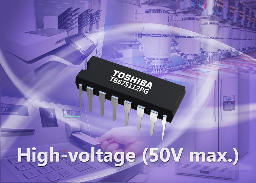 Toshiba launches high-voltage dual-channel solenoid driver