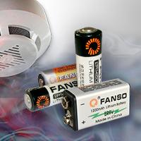 Литиевые батарейки Fanso в беспроводных датчиках пожарно-охранной сигнализации