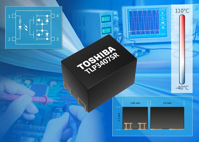 Toshiba Launches Voltage Drive Photorelay Tiny
