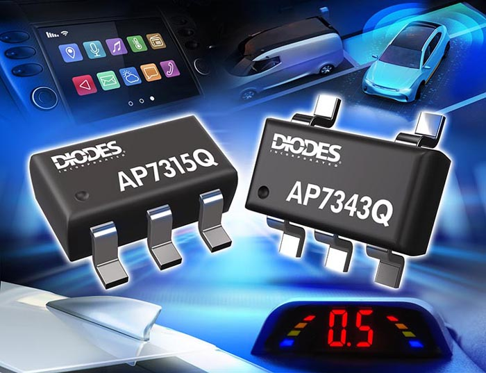 Automotive-Compliant Linear Regulators Diodes Incorporated Deliver