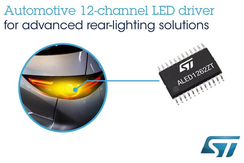 STMicroelectronics - LED1262ZT