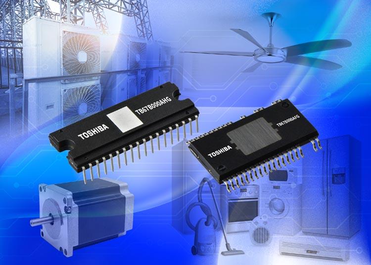 Toshiba выпускает 600-вольтовую микросхему драйвера трехфазных