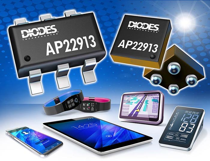 High-Side Load Switch Diodes Incorporated Slew-Rate