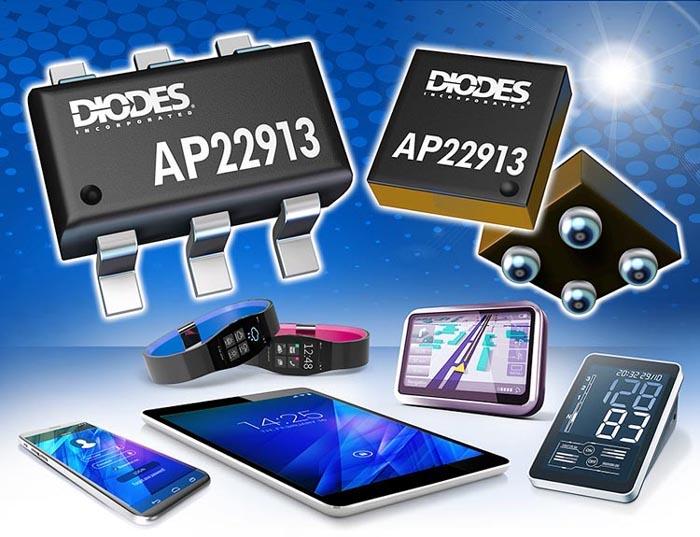 Diodes анонсировала выпуск коммутатора нагрузок управляемой
