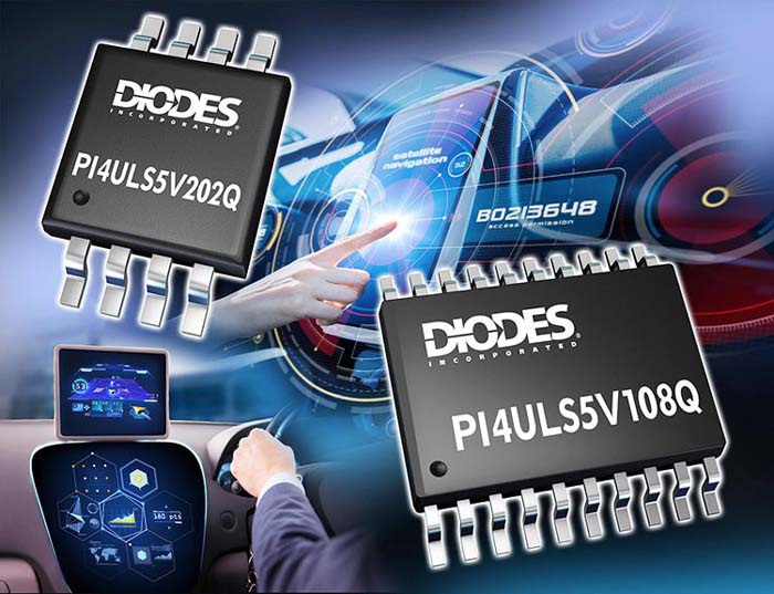 Automotive-Compliant Level Shifters Diodes Incorporated Provide