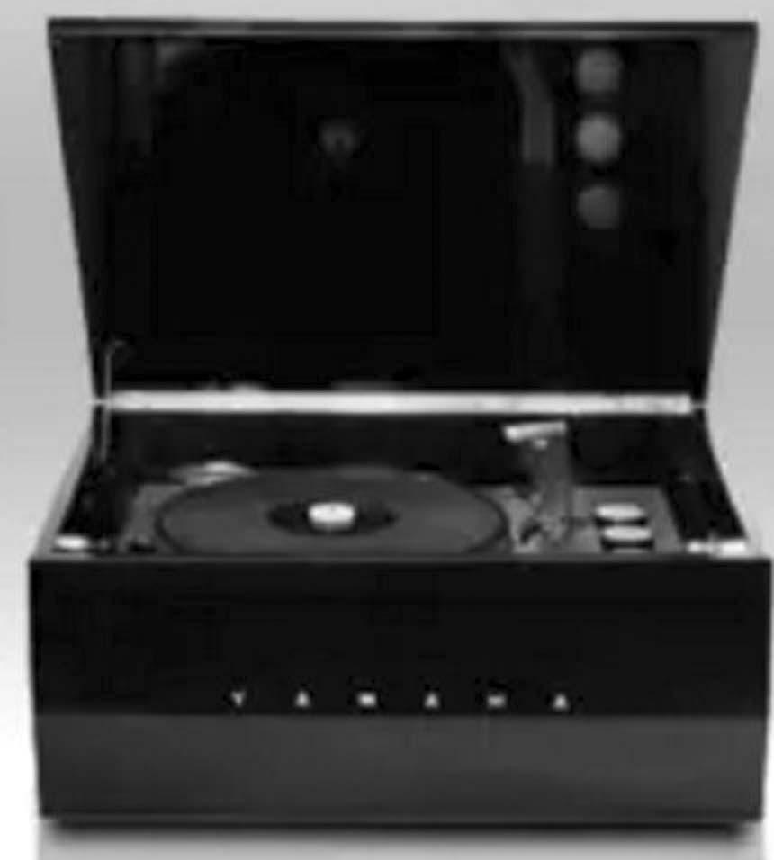 Hi-Fi проигрыватель виниловых пластинок Yamaha.