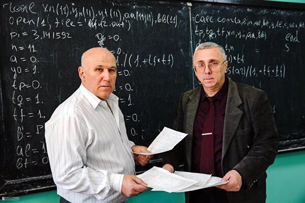 Владимир Пономаренко и Игорь Лагунов