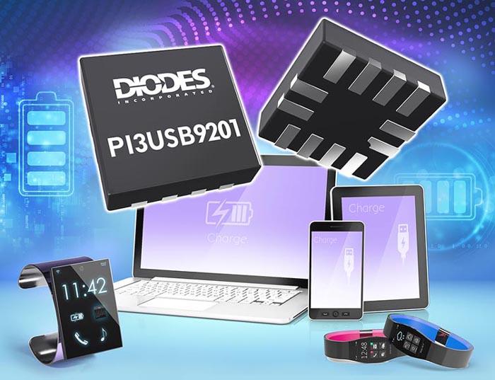 Diodes анонсировала двухрежимный детектор типа зарядного