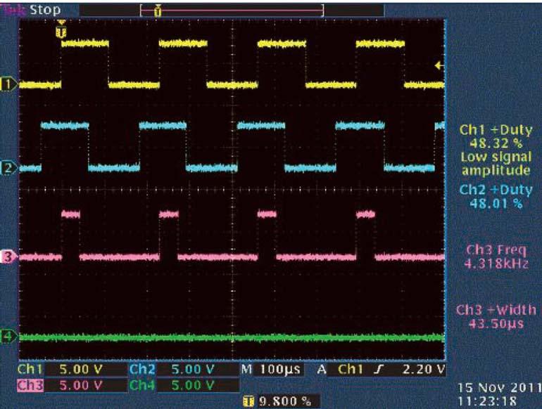 Схема определителя направления основана на ждущем мультивибраторе, который, в зависимости от требований к скорости, можно выбрать из серий 74HC или 74HCT.