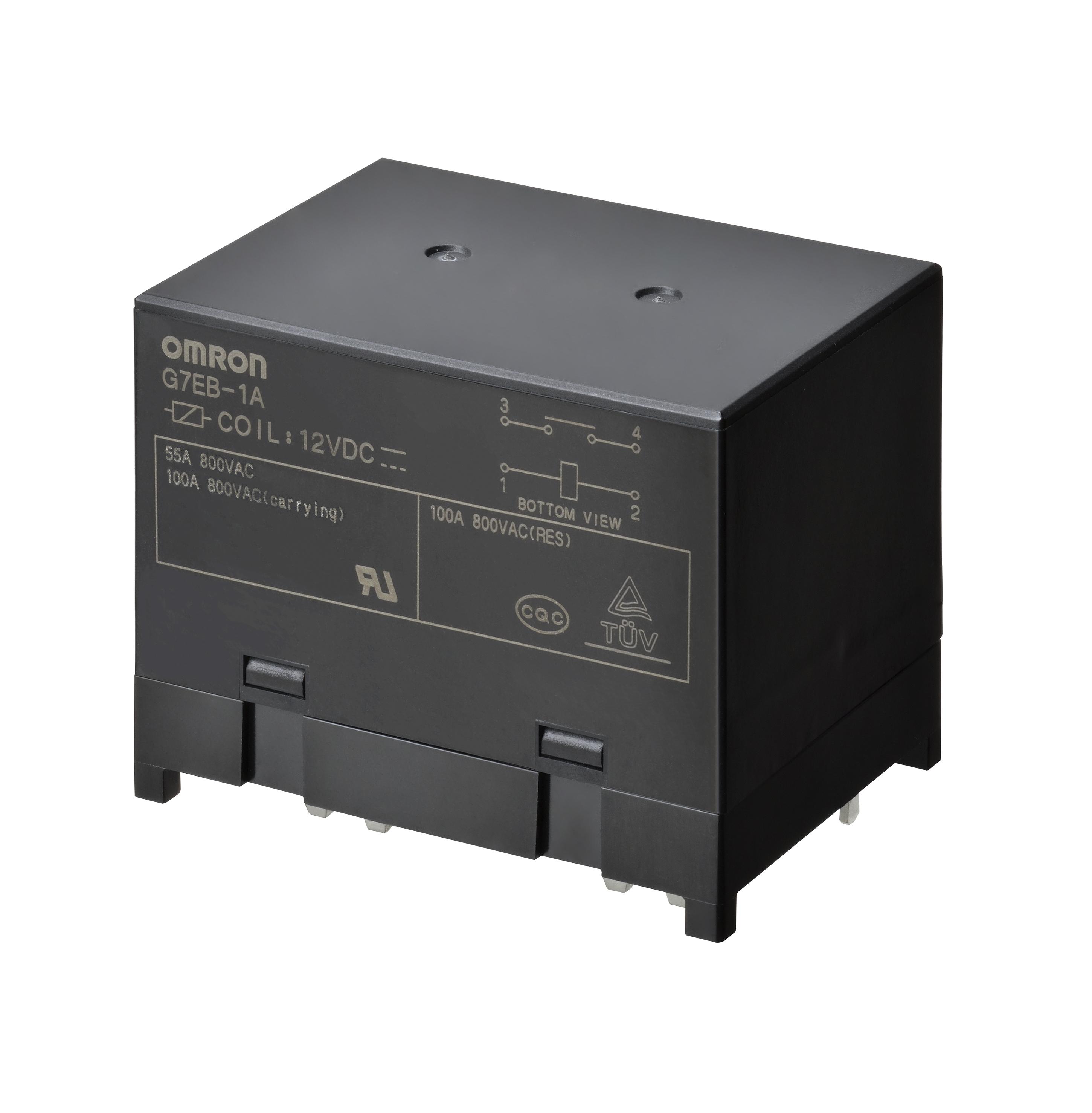 Datasheet Omron G7EB-1A DC12