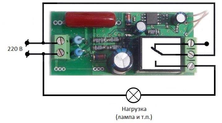 Управление электроприборами по ИК каналу