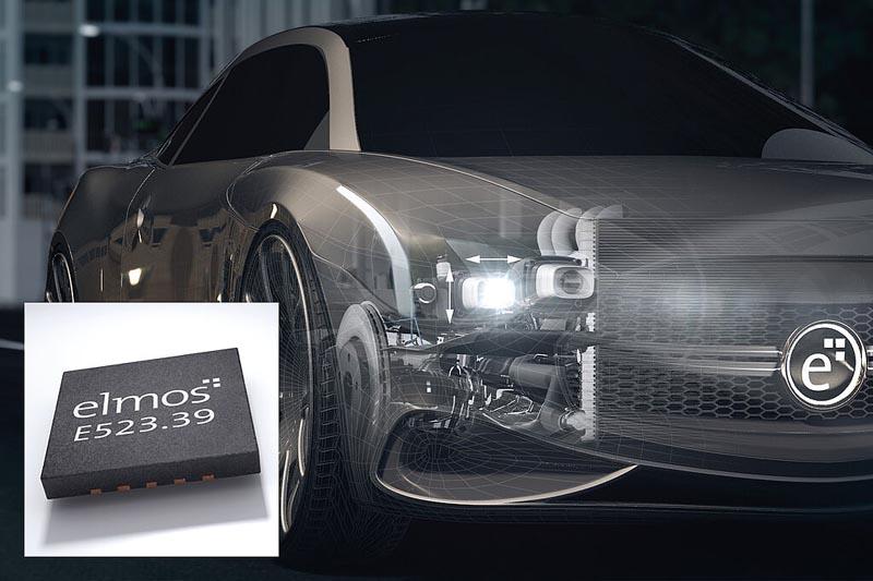 Elmos разработала драйвер шагового двигателя отвечающий