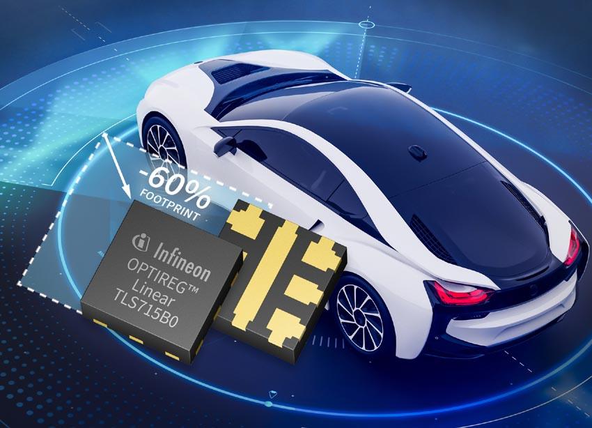 Infineon начала выпуск микросхем для автомобильных приложений в корпусах flip-chip