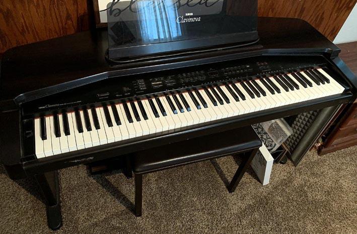 Цифровое пианино CVP-35.