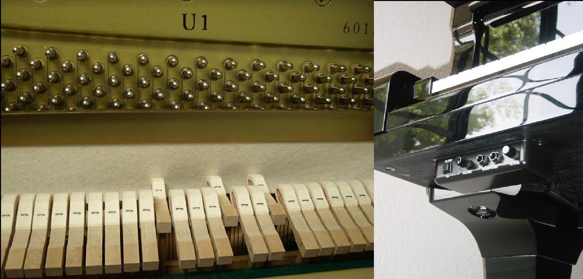 Конструкция тихого пианино.