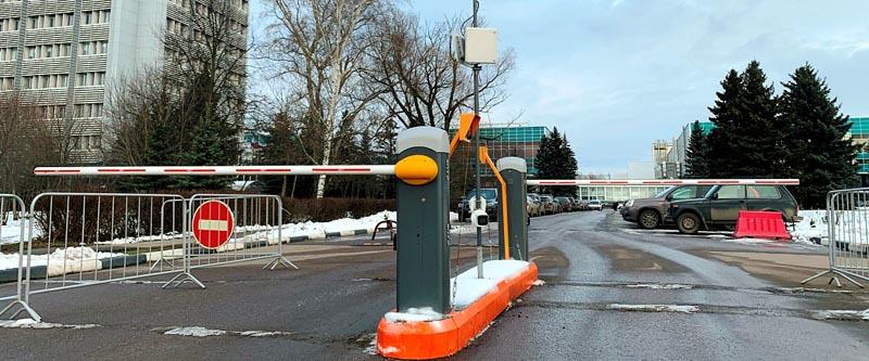 RFID-парковка с идентификацией на расстоянии до 15метров