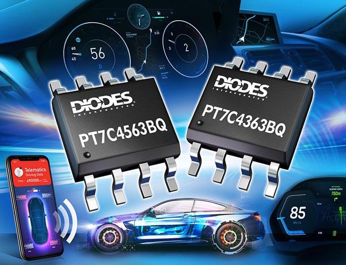 Diodes - PT7C4363BQ, PT7C4563BQ