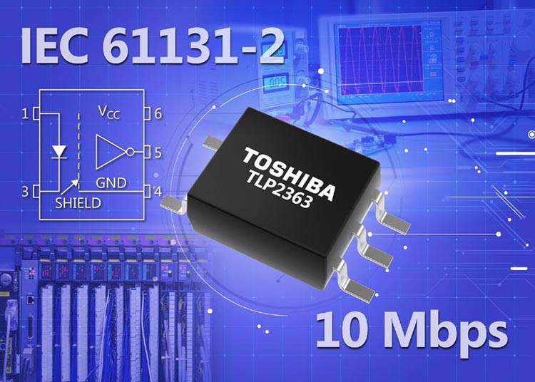 Toshiba Launches 10 Mbps Logic Output