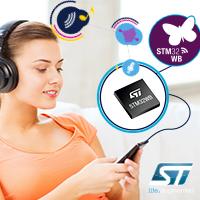 STM32WB55 передает голос и музыку через BLE с помощью кодека OPUS