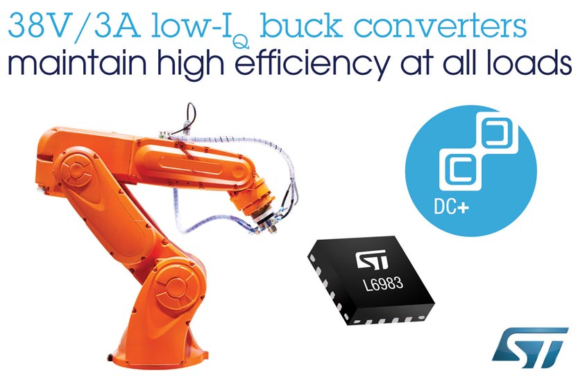 STMicroelectronics Launches Highly Integrated Flexible Synchronous