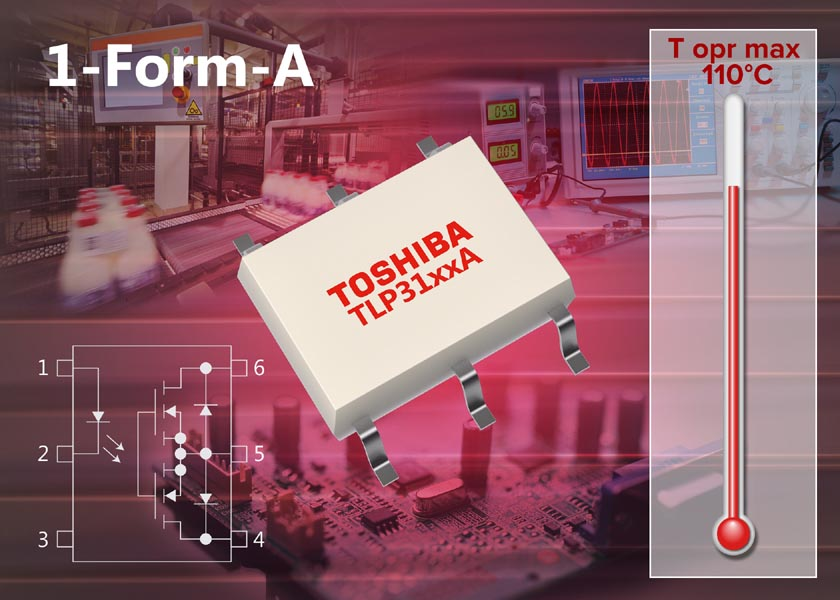 Toshiba - TLP3106A, TLP3107A, TLP3109A