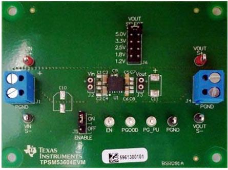 Оценочный модуль TPSM53604EVM