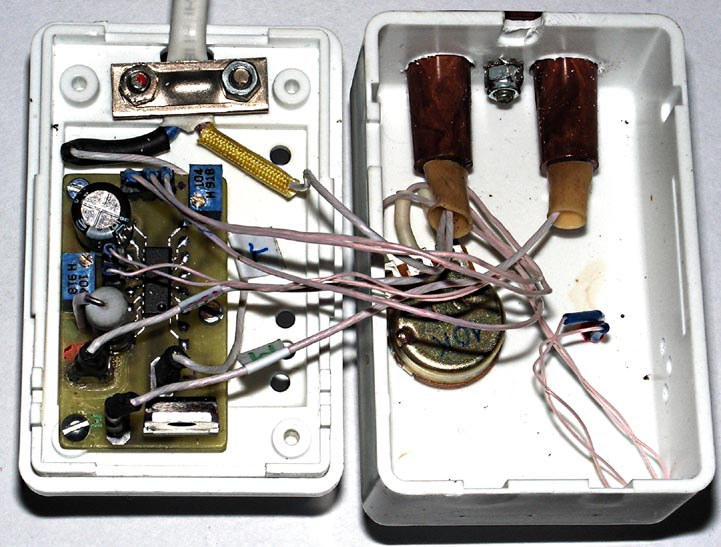 Фотография устройства на базе U2010B (корпус открыт).