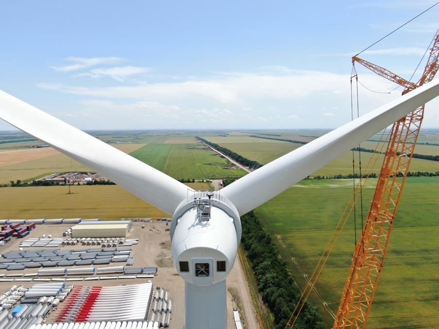 Электроэнергия и мощность первого ветропарка Росатома поступила на оптовый рынок