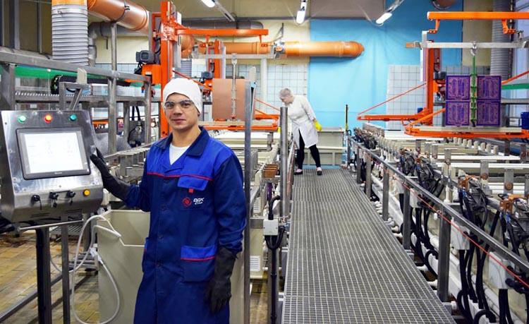 Предприятие ОДК внедряет оборудование для производства высокотехнологичных печатных плат