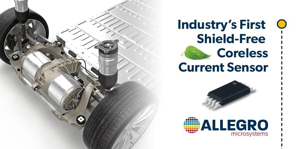Industry First Standalone Coreless Current Sensor