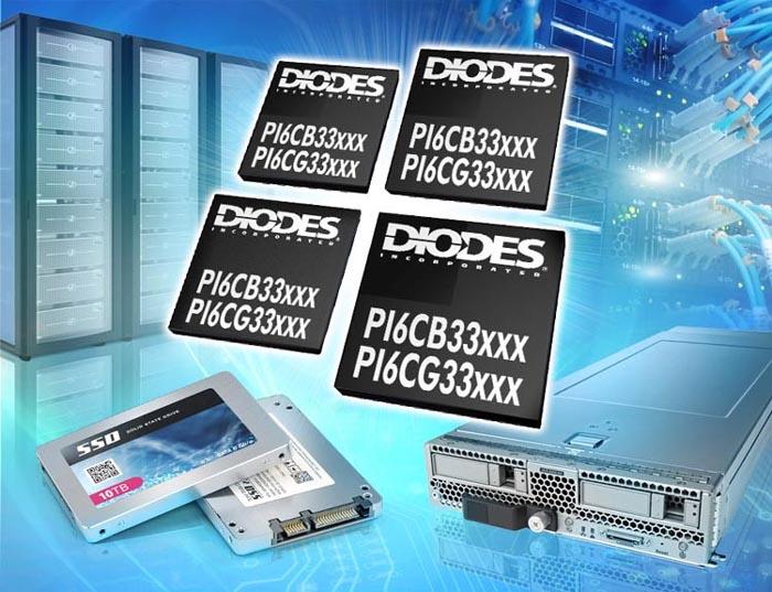 Diodes - PI6CG33xxxC, PI6CB33xxxx