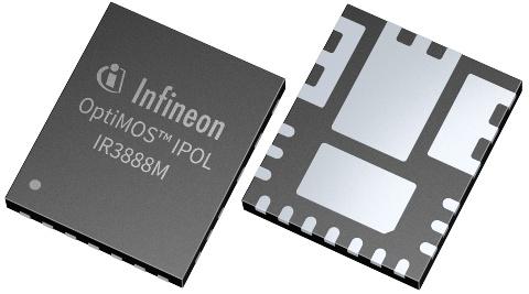 Datasheet Infineon IR3888MTRPBFAUMA1