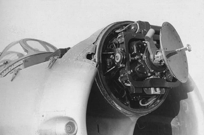 РЛС «Коршун» на МиГ-17П