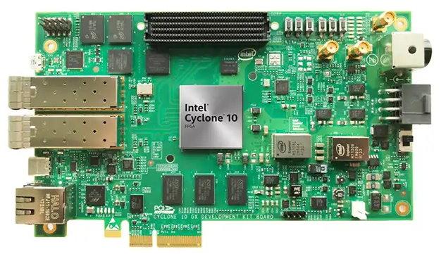 Отладочные платы Intel PSG DK-DEV-10CX220-A и Terasic T-Core со склада «ЭФО»