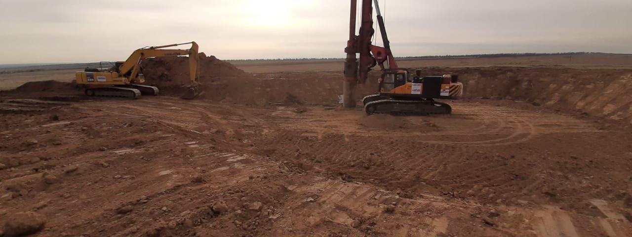 Калмыкии началось строительство двух ветропарков суммарной