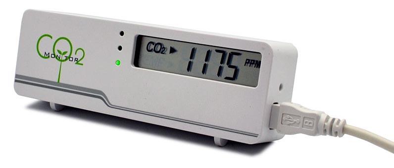 Автоматизация вентиляции с помощью детектора углекислого газа