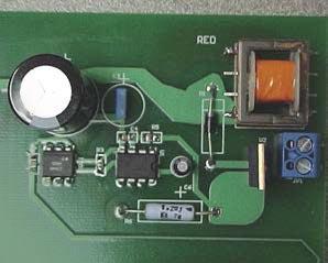 Схема питания мощных светодиодов от сети переменного тока