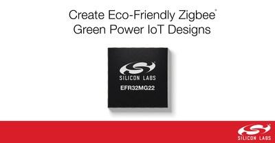 Silicon Labs представила семейство Zigbee СнК для устройств Интернета вещей EFR32MG22