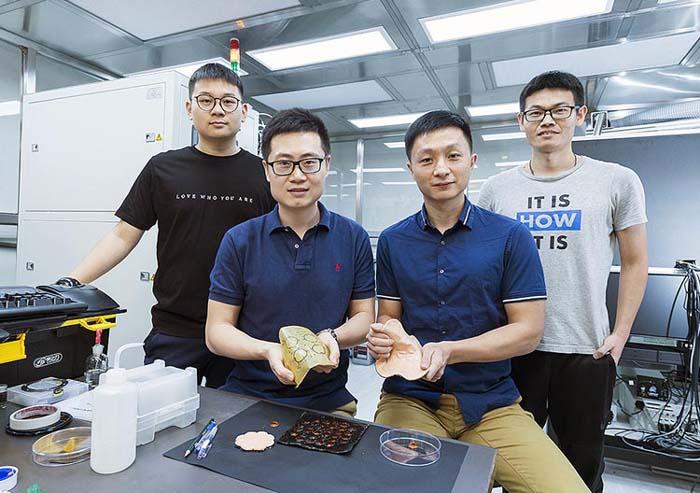Команда исследователей из Городского университета Гонконга. (Фото: City University of Hong Kong).