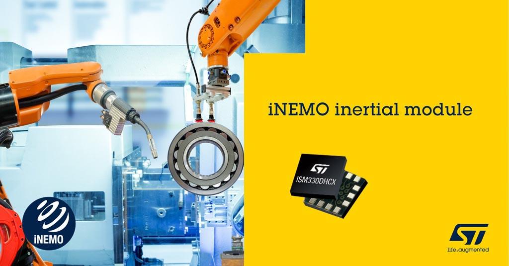 STMicroelectronics - ISM330DHCX, LSM6DSRX