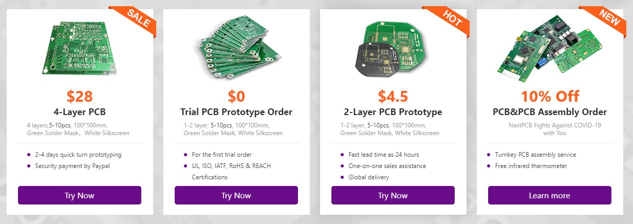 PCB and PCB assembly order