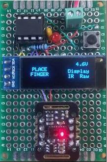 Пульсоксиметр и фотоплетизмограф на микроконтроллере ATtiny85