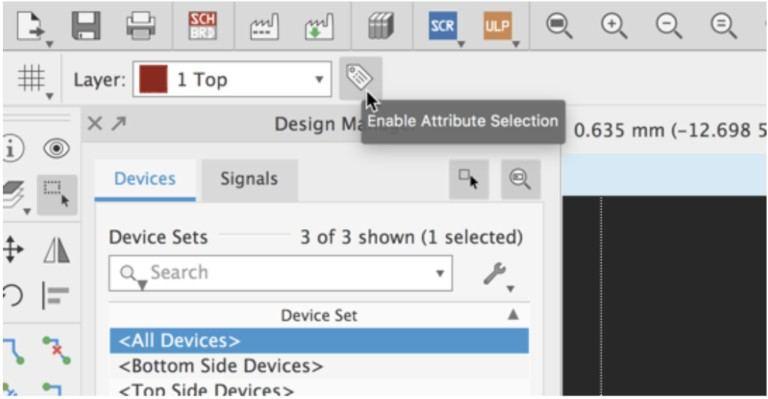 Eagle 9.3: Оптимизация фильтров при выполнении групповых команд.