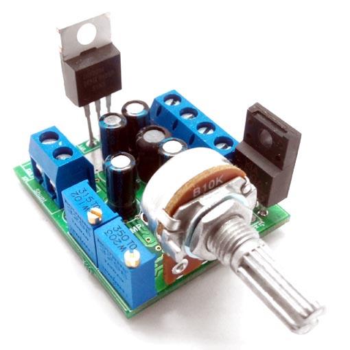 ШИМ-регулятор мощности Мастер Кит MP4511