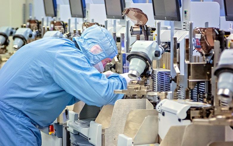 GS Nanotech освоил технологию монтажа микросхем Package-on-Package