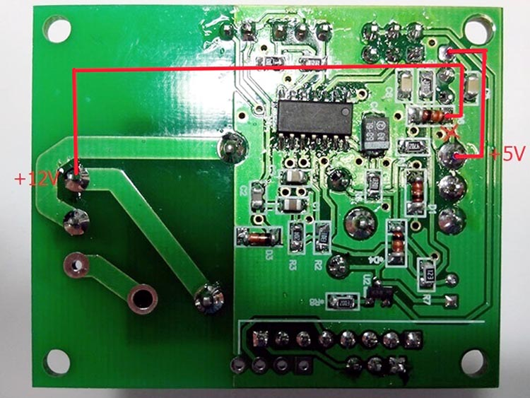 Доработка модуля MP146