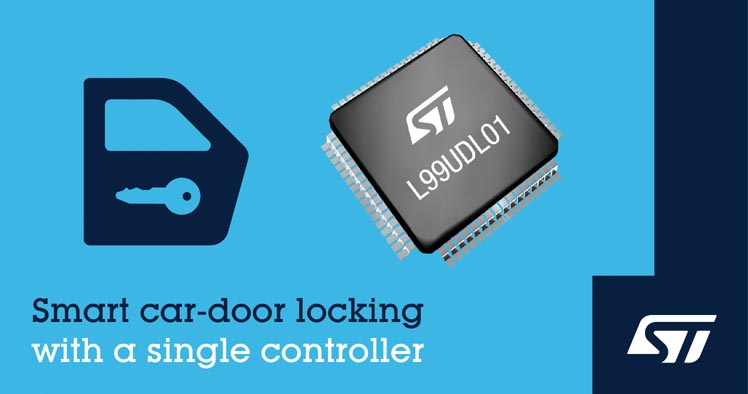STMicroelectronics Simplifies Design Boosts Safety Highly