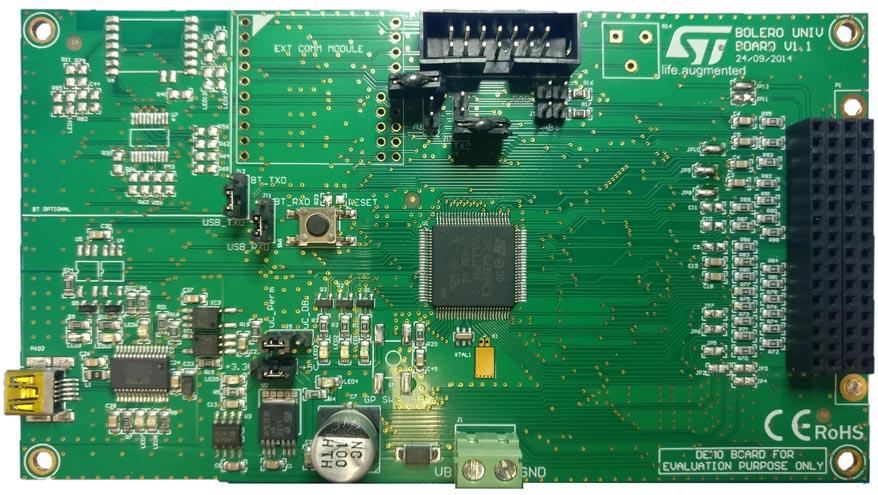 Демонстрационный набор универсального контроллера дверных замков на основе L99UDL01 - материнская плата
